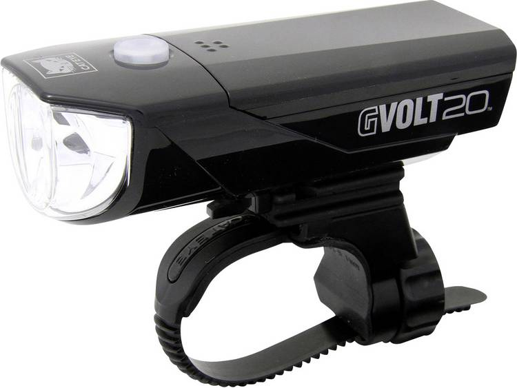 CATEYE koplamp GVolt 20 RC zwart