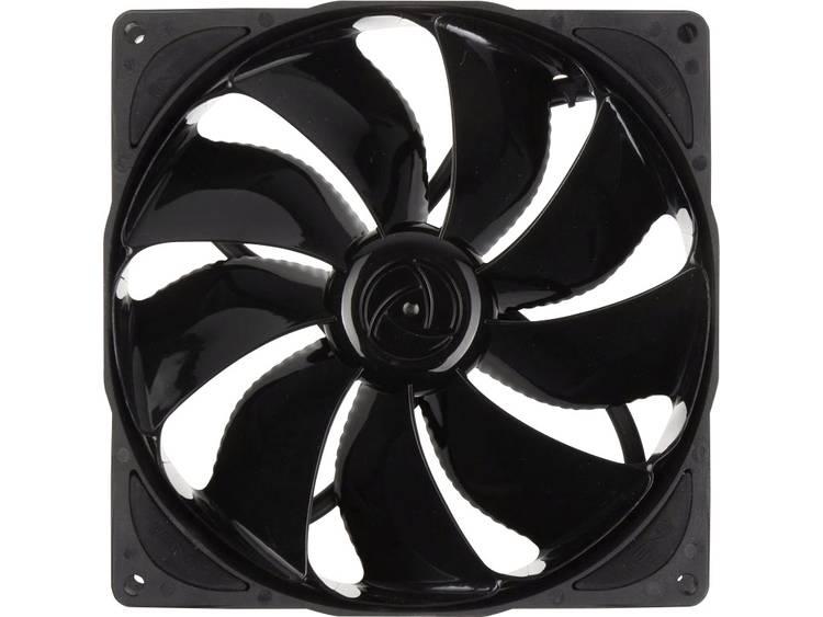 PC ventilator NoiseBlocker NB-eLoop B14-PS Black Edition Zwart (b x h x d) 140 x 140 x 29 mm