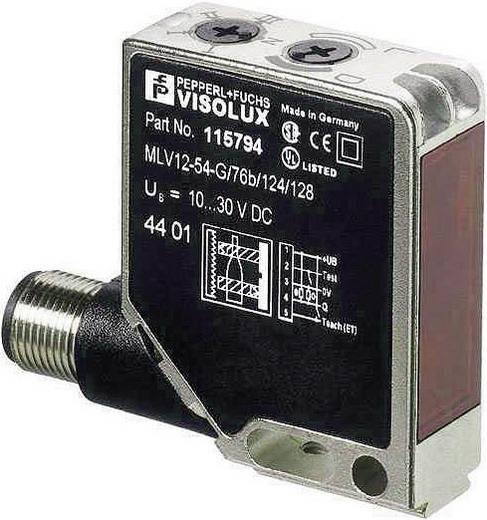 Pepperl & Fuchs MLV12-8-H-250-RT/65B/124/128 Reflectie-lichtknop Lichtschakelend, Donkerschakelend, Achtergrondfilterin