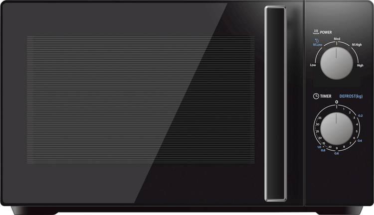 Image of Silva Homeline MW-G 20.5 schw Magnetron 700 W Grillfunctie