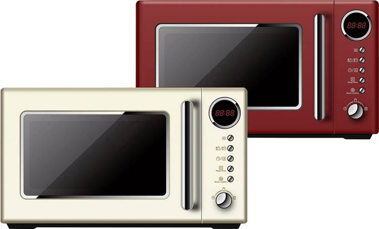 Image of BiKitchen Cook 815 rot Magnetron 700 W