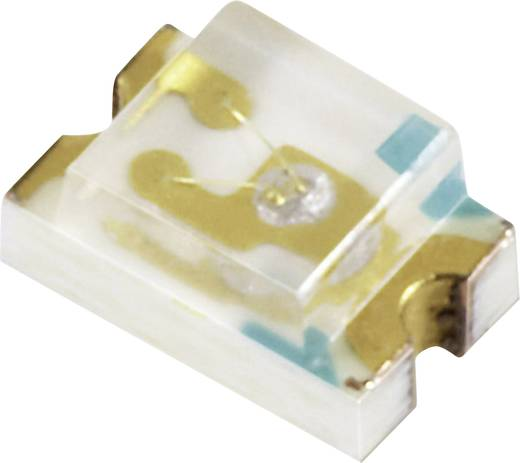 Everlight Opto 17-21SYGC/S530-E3/TR8 SMD-LED 0805 Groen-geel 31 mcd 140 ° 20 mA 2 V