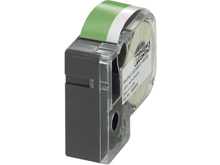 Montagemethode: Plakken Groen, Wit Phoenix Contact MM-EMLF (EX24)R C1 GN/WH 803954 1 stuks