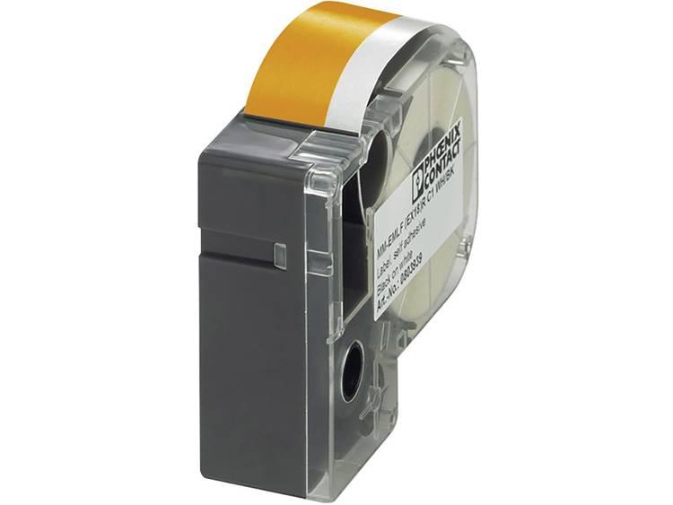 Phoenix Contact 803957 MM-EMLF (EX18)R C1 OG/BK Etiketten voor thermotransferprinter Montagemethode: Plakken Oranje, Zwart 1 stuk(s)