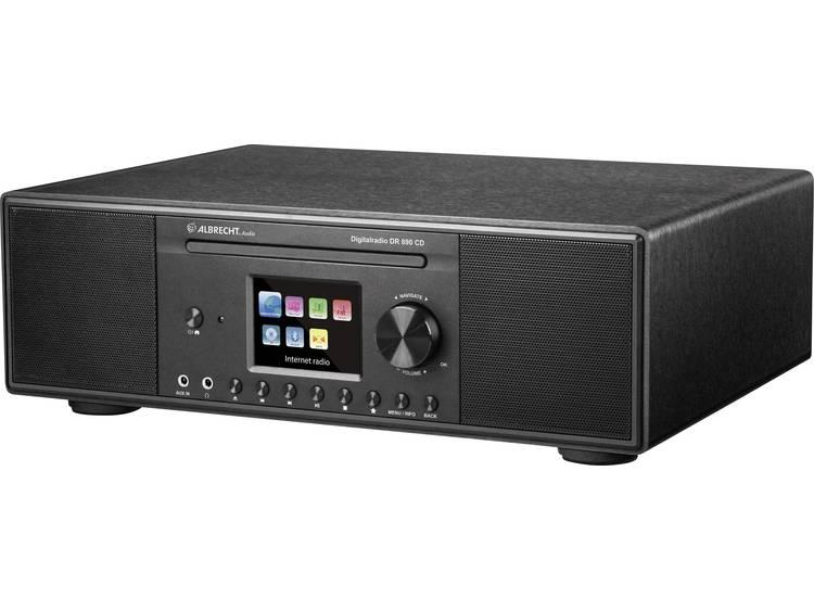 Albrecht DR 890 Tafelradio met internetradio DAB+, FM AUX, Bluetooth, CD, DLNA,
