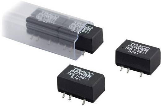 TracoPower TES 1-2412 DC/DC-converter, SMD 24 V/DC 12 V/DC 85 mA 1 W Aantal uitgangen: 1 x
