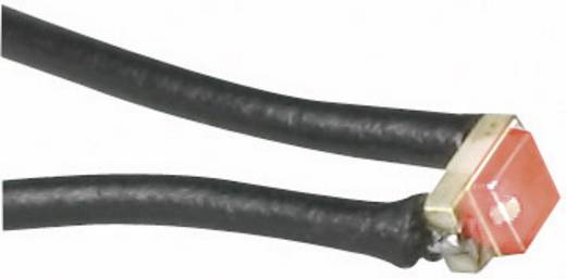SMD-LED uitvoering met kabel 0805 SMD-LED 0805 Geel 43 mcd 140 ° 20 mA 2 V