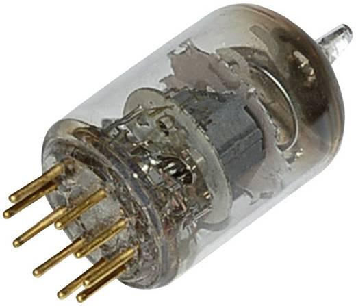Elektronenbuis E 180 F = 6 J 49 Pentode 190 V 13 mA Aantal polen: 9 Fitting: Noval Inhoud 1 stuks