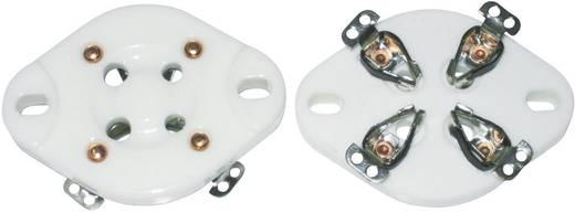 156846 Buisfitting 1 stuks Aantal polen: 4 Fitting: UX-4 Montagewijze: Chassis Materiaal (LoV):Keramiek