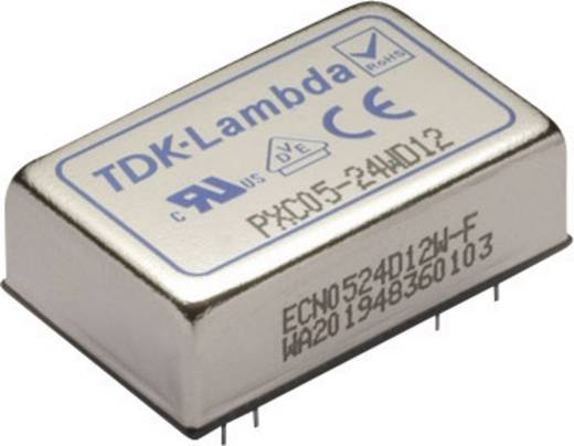 TDK-Lambda PXC05-48WS15 DC/DC-converter, print 48 V/DC 15 V/DC 400 mA 6 W Aantal uitgangen: 1 x