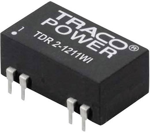 TracoPower TDR 2-1211WI DC/DC-converter, print 12 V/DC 5 V/DC 400 mA 2 W Aantal uitgangen: 1 x