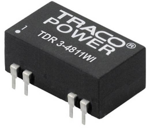 TracoPower TDR 3-1211WI DC/DC-converter, print 12 V/DC 5 V/DC 600 mA 3 W Aantal uitgangen: 1 x