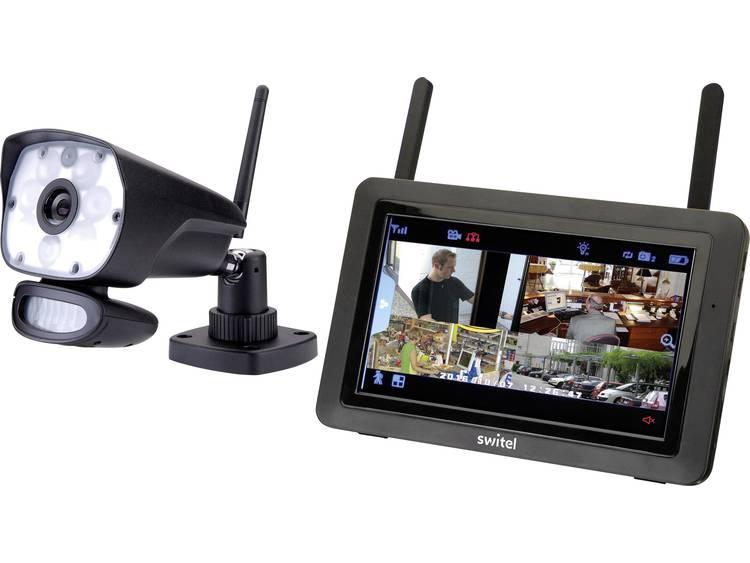Draadloze bewakingsset 4-kanaals Met 1 camera Switel HSIP6000 HSIP6000