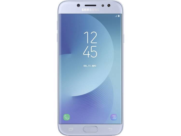 Samsung Galaxy J7 (2017) Duos Dual-SIM LTE smartphone 14 cm (5.5 inch) 1.6 GHz Octa Core 16 GB 13 Mpix Android 7.0 Nougat Blauw
