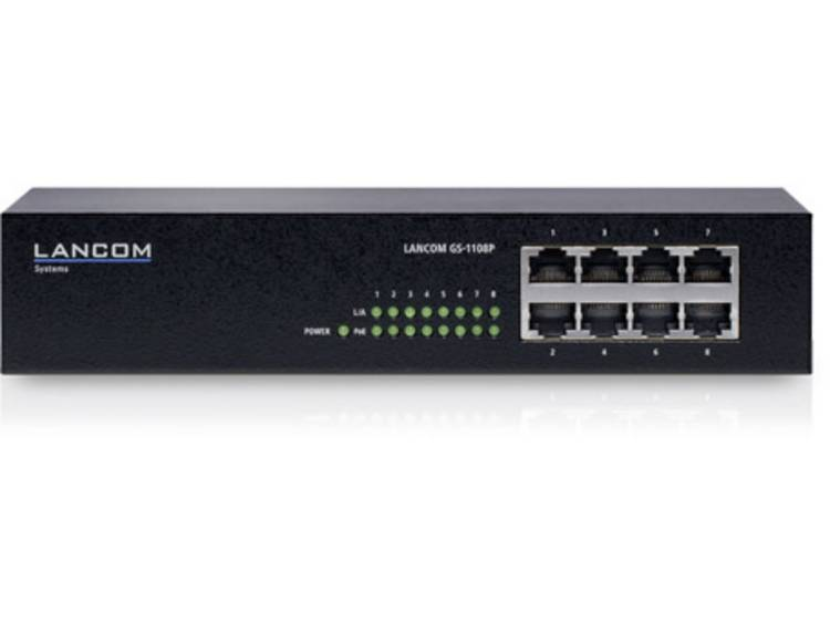 Lancom Systems LANCOM GS-1108P Netwerk switch RJ45