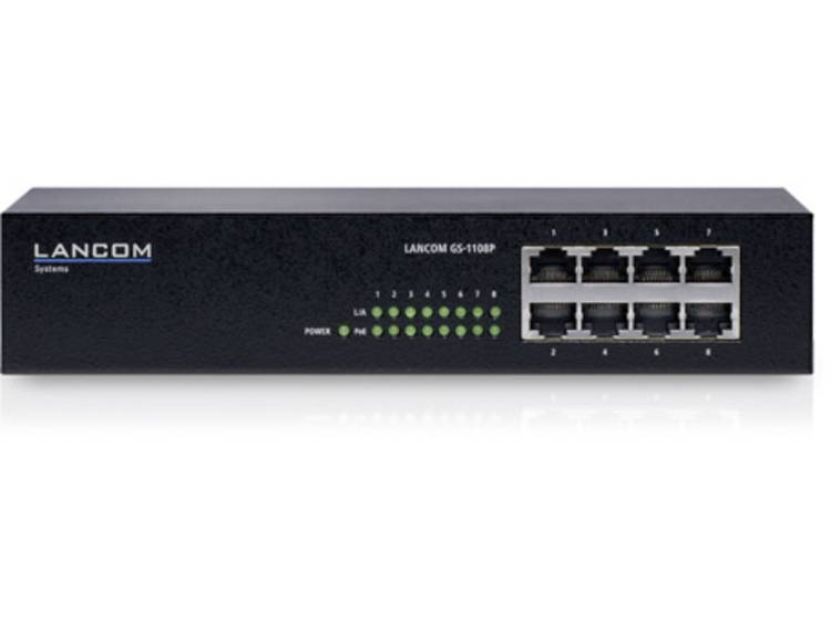 Lancom Systems LANCOM GS 1108P Netwerk switch RJ45