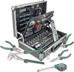 Aluminium gereedschapskoffer 90-delig