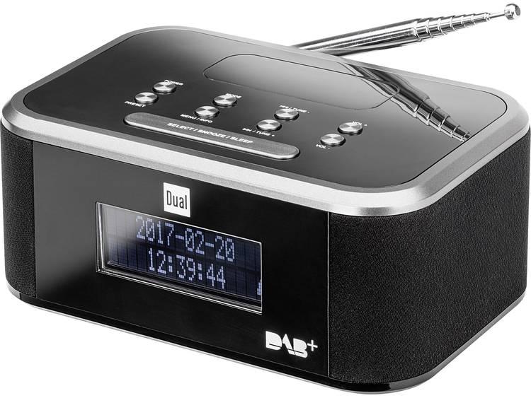 Dual DAB CR 28 Wekkerradio DAB+, FM AUX Zwart