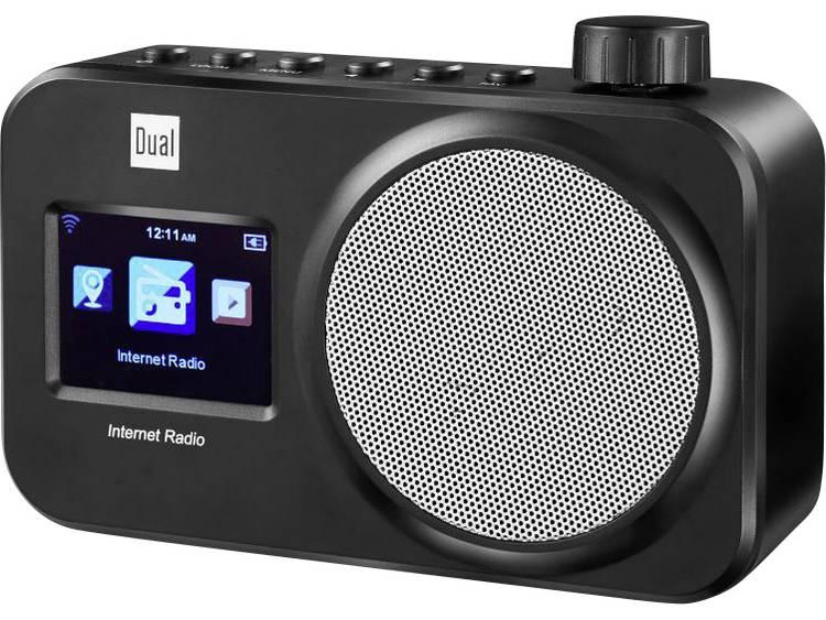 Dual IR 11 Transistorradio met internetradio Internet Internetradio Zwart
