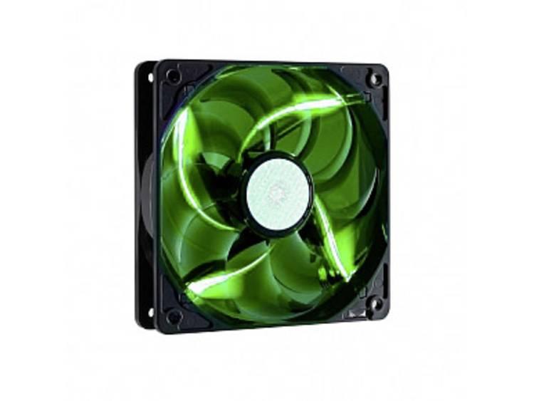 PC ventilator Cooler Master Sickelflow Zwart, Groen (b x h x d) 120 x 120 x 25 mm