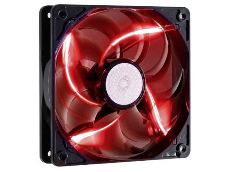 PC ventilator Cooler Master Sickelflow Zwart, Rood (b x h x d) 120 x 120 x 25 mm