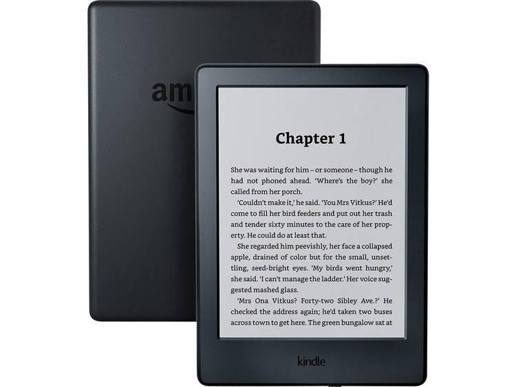 amazon All-New Kindle 6 eBook-reader 6 inch (15.2 cm) Zwart met speciale aanbiedingen