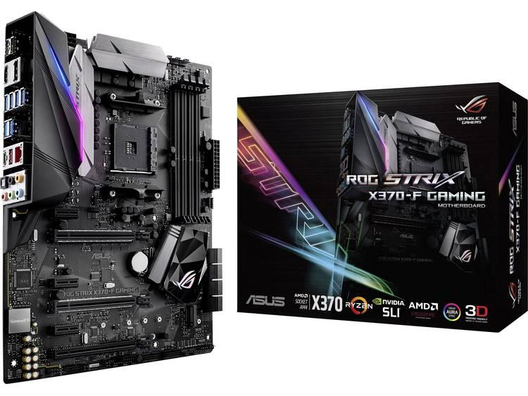 Asus ROG Strix X370-F Gaming Moederbord Socket AMD AM4 Vormfactor ATX Moederbord chipset AMD® X370