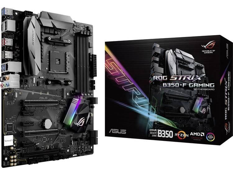 Asus ROG Strix B350-F Gaming Moederbord Socket AMD AM4 Vormfactor ATX Moederbord chipset AMD® B350