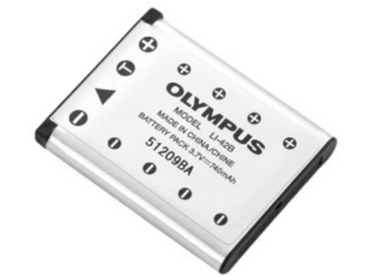 Olympus Camera accu Vervangt originele accu LI 42B 3.7 V 700 mAh