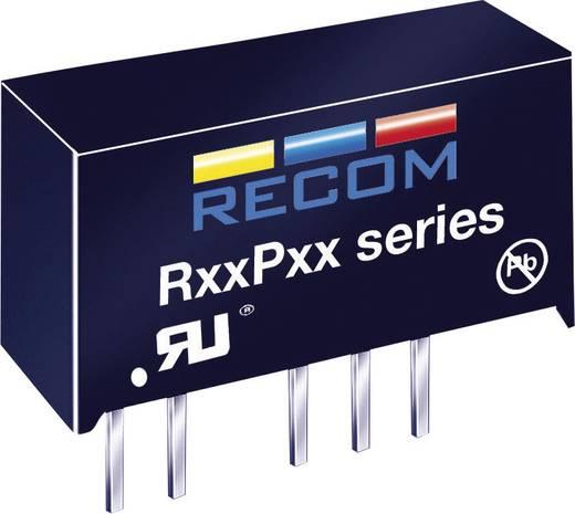RECOM R05P12S DC/DC-converter, print 5 V/DC 12 V/DC 84 mA 1 W Aantal uitgangen: 1 x