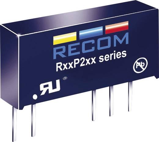 RECOM R05P205S/R8 DC/DC-converter, print 5 V/DC 5 V/DC 400 mA 2 W Aantal uitgangen: 1 x