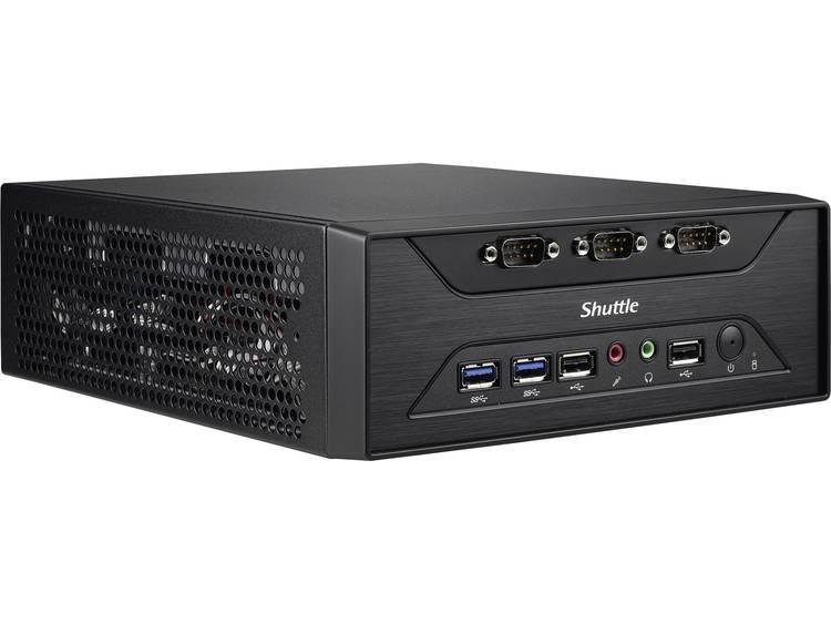 Mini-PC (HTPC) Shuttle XC60J - 8 COM-Ports J3355 4 GB 500 Zonder besturingssysteem