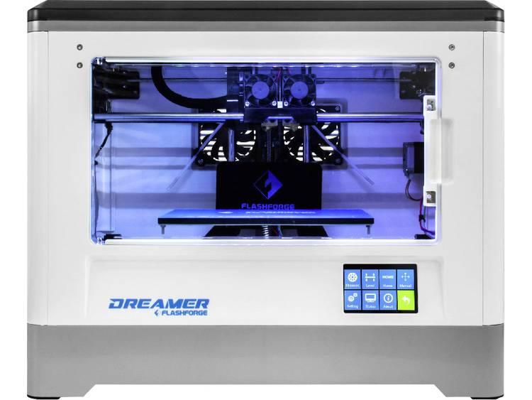 3D-printer Flashforge Dreamer Dual incl. filament, incl. software