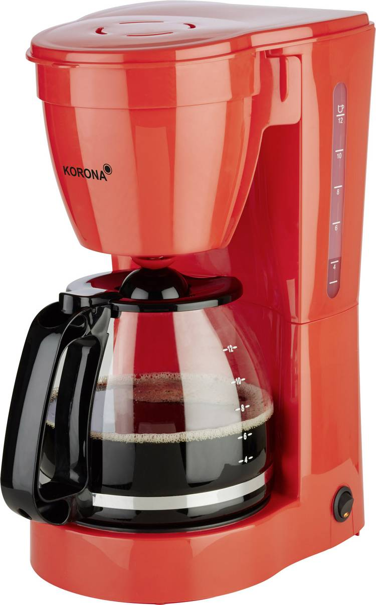 Image of Koffiezetapparaat Korona 10117 Rood Capaciteit koppen=12 Warmhoudfunctie