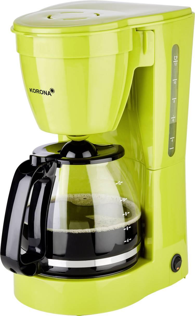 Image of Koffiezetapparaat Korona 10118 Groen Capaciteit koppen=12 Warmhoudfunctie