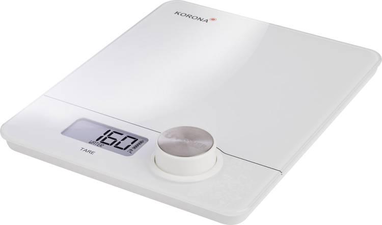 Image of Keukenweegschaal Digitaal Korona Pia Weegbereik (max.)=5 kg Wit