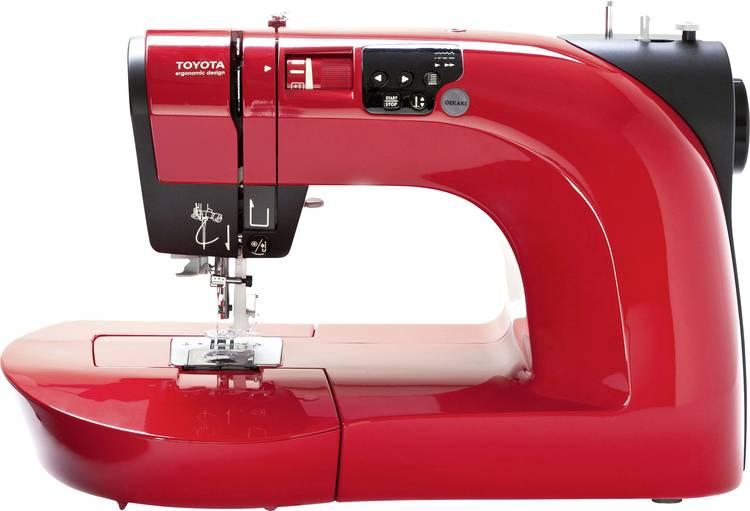 Naaimachine voor jeans met vrije arm Toyota Nahmaschinen OEKAKI50R Rood