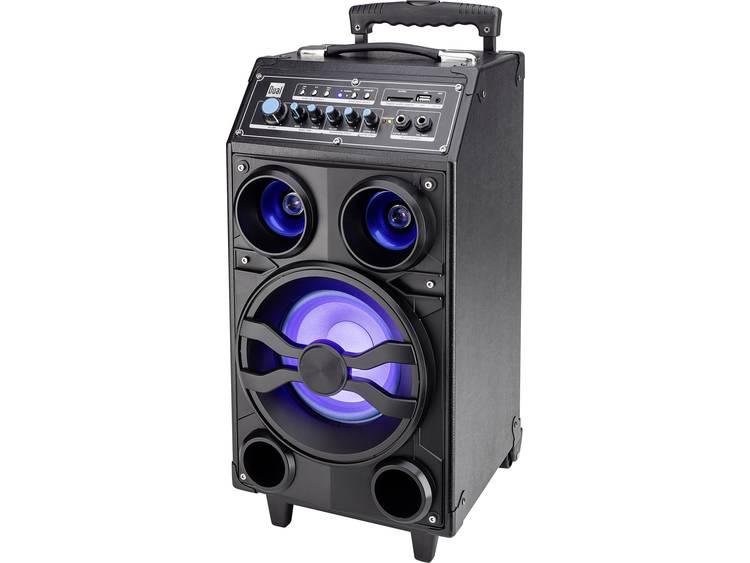 Dual DSBX 100 Mobiele PA-luidspreker 16.5 cm 6.5 inch werkt op een accu 1 stuk(s