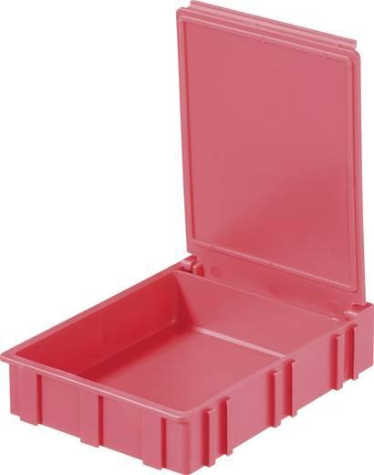 SMD-box Rood Kleur deksel: Rood 1 stuks (l x b x h) 68 x 57 x 15 mm Licefa N42266