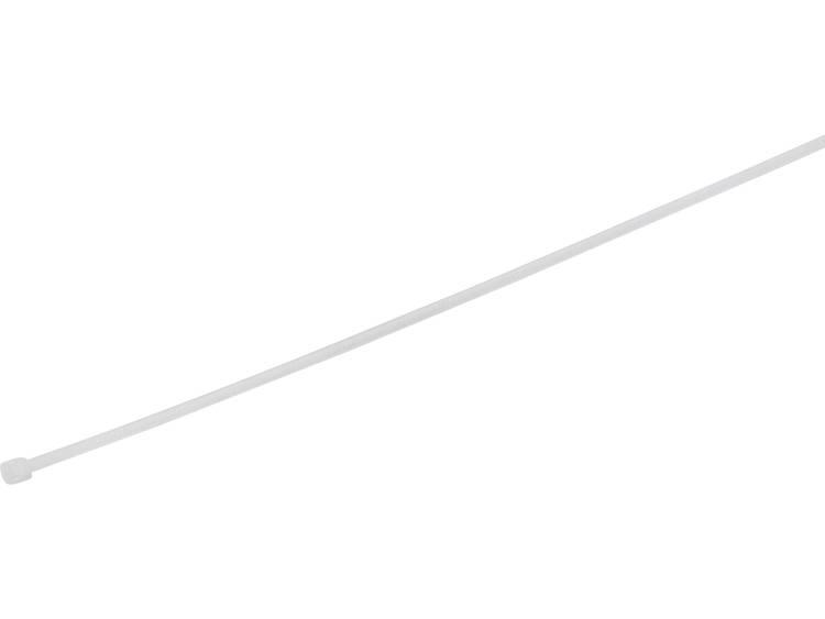 TRU COMPONENTS 1577939 Kabelbinder 180 mm Wit Hittegestabiliseerd 100 stuks