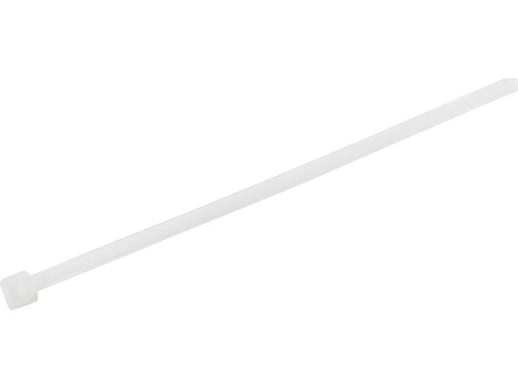 TRU COMPONENTS 1577977 Kabelbinder 140 mm Wit Hittegestabiliseerd 100 stuks