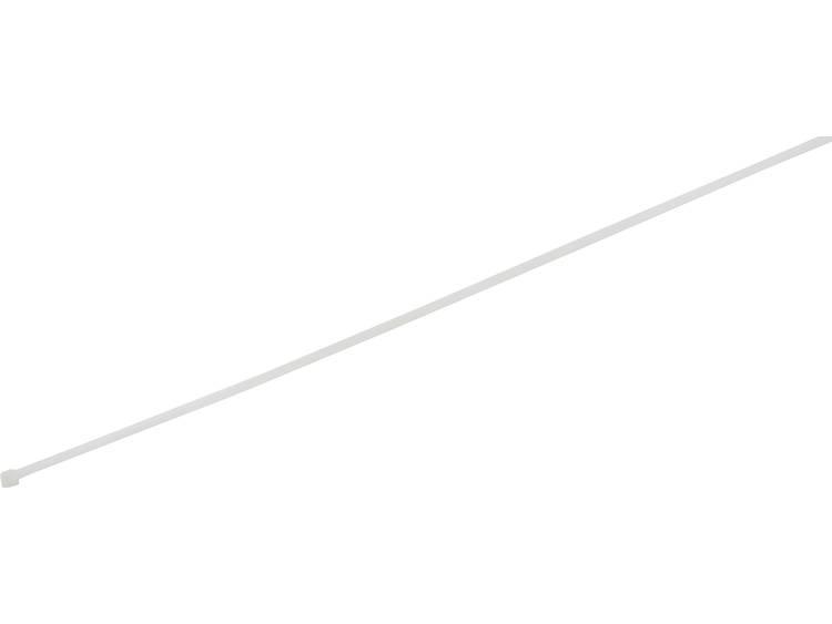 TRU COMPONENTS 1578005 Kabelbinder 300 mm Wit Hittegestabiliseerd 100 stuks