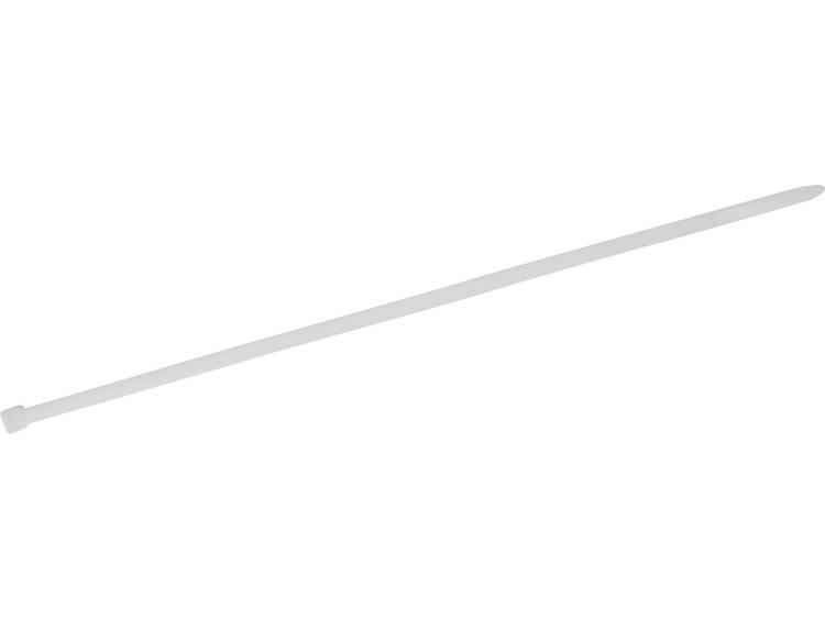 TRU COMPONENTS 1578061 Kabelbinder 250 mm Wit Hittegestabiliseerd 100 stuks