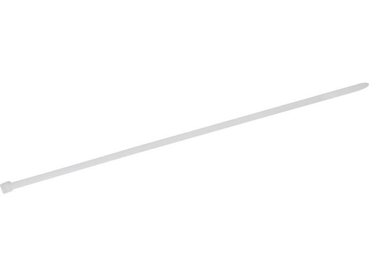TRU COMPONENTS 1578067 Kabelbinder 400 mm Wit Hittegestabiliseerd 100 stuks