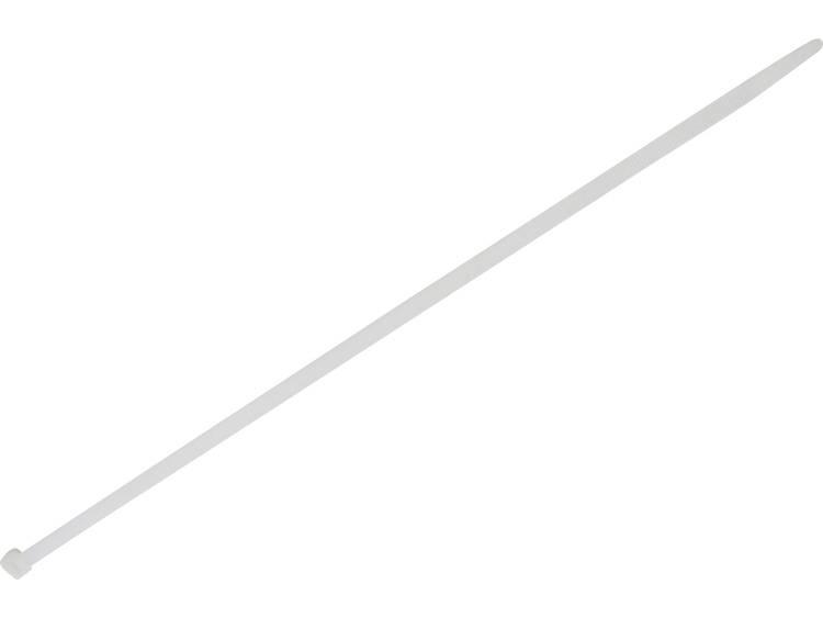 TRU COMPONENTS 1578089 Kabelbinder 500 mm Wit Hittegestabiliseerd 100 stuks