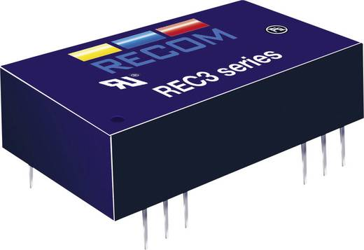 RECOM REC3-2412SRWZ/H2/A DC/DC-converter, print 24 V/DC 12 V/DC 250 mA 3 W Aantal uitgangen: 1 x