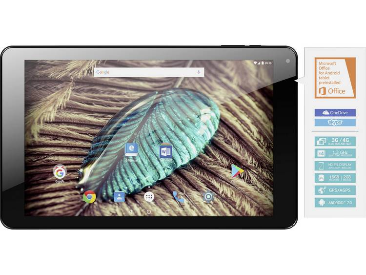 Odys Android-tablet 10.1 inch 16 GB LTE/4G, Wi-Fi