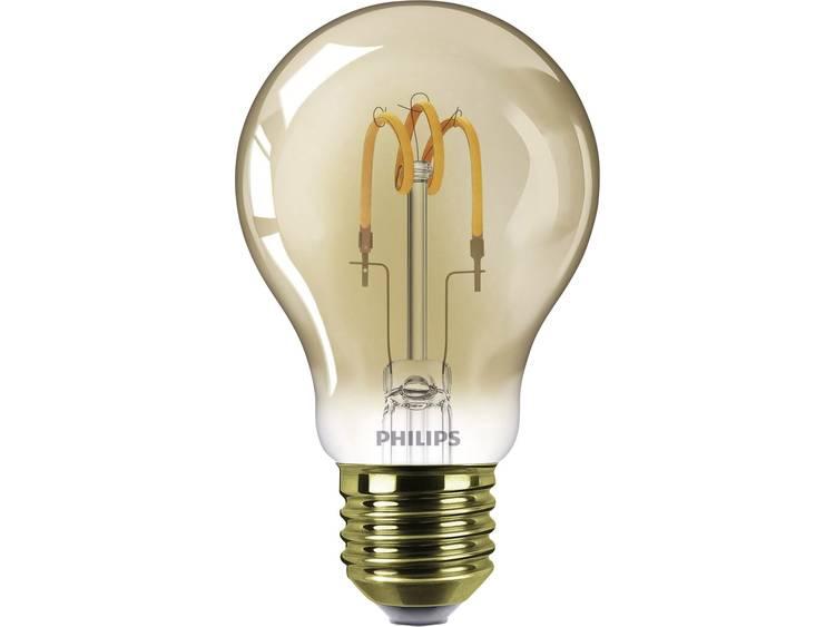 LED-lamp E27 Peer 2.3 W = 14 W Goud Philips Lighting 1 stuks