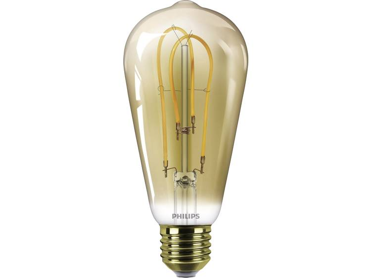 LED-lamp E27 Peer 5 W = 25 W Goud Energielabel: A Philips Lighting 1 stuks