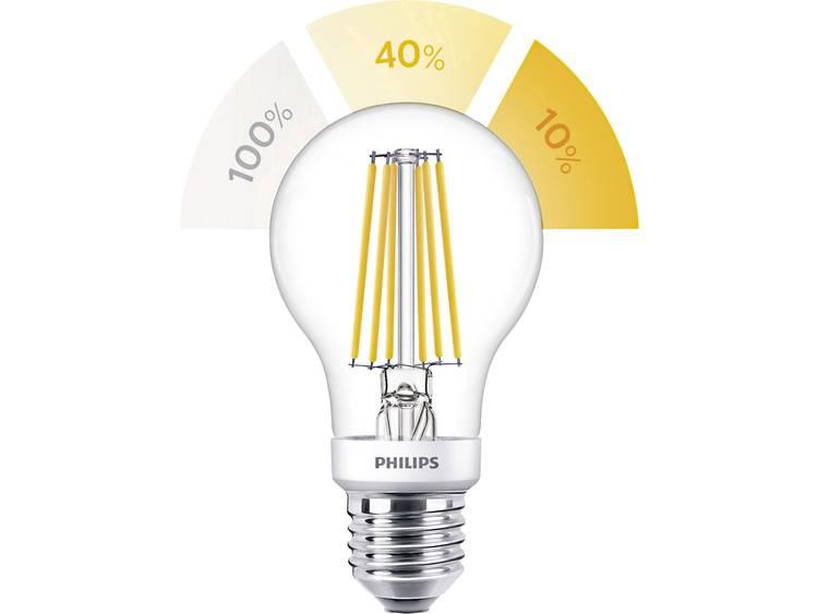 Philips SceneSwitch Classic LEDbulb E27 A60 7.5W 827 | SceneSwitch Dimbaar Vervangt 60W